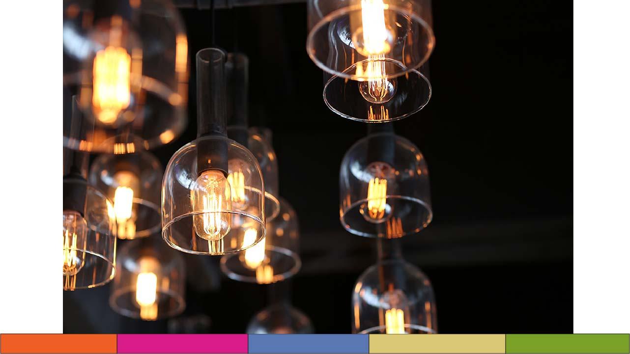 tendencia de Iluminación vintage en restaurantes