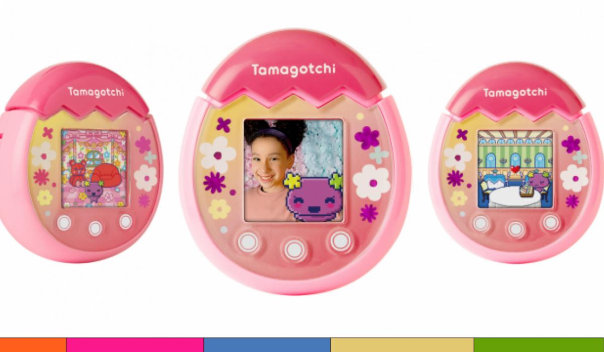 Lanzan Tamagotchi renovado con cámara y pantalla a color