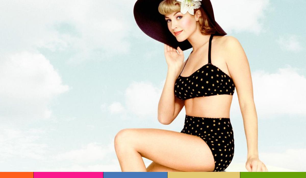 Bikini de los años 50: regresa para las vacaciones de verano 2021