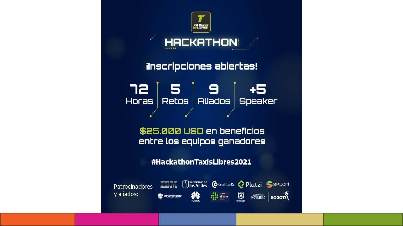 Hackathon Taxis Libres: evento que apoyará a talento humano en Latinoamérica
