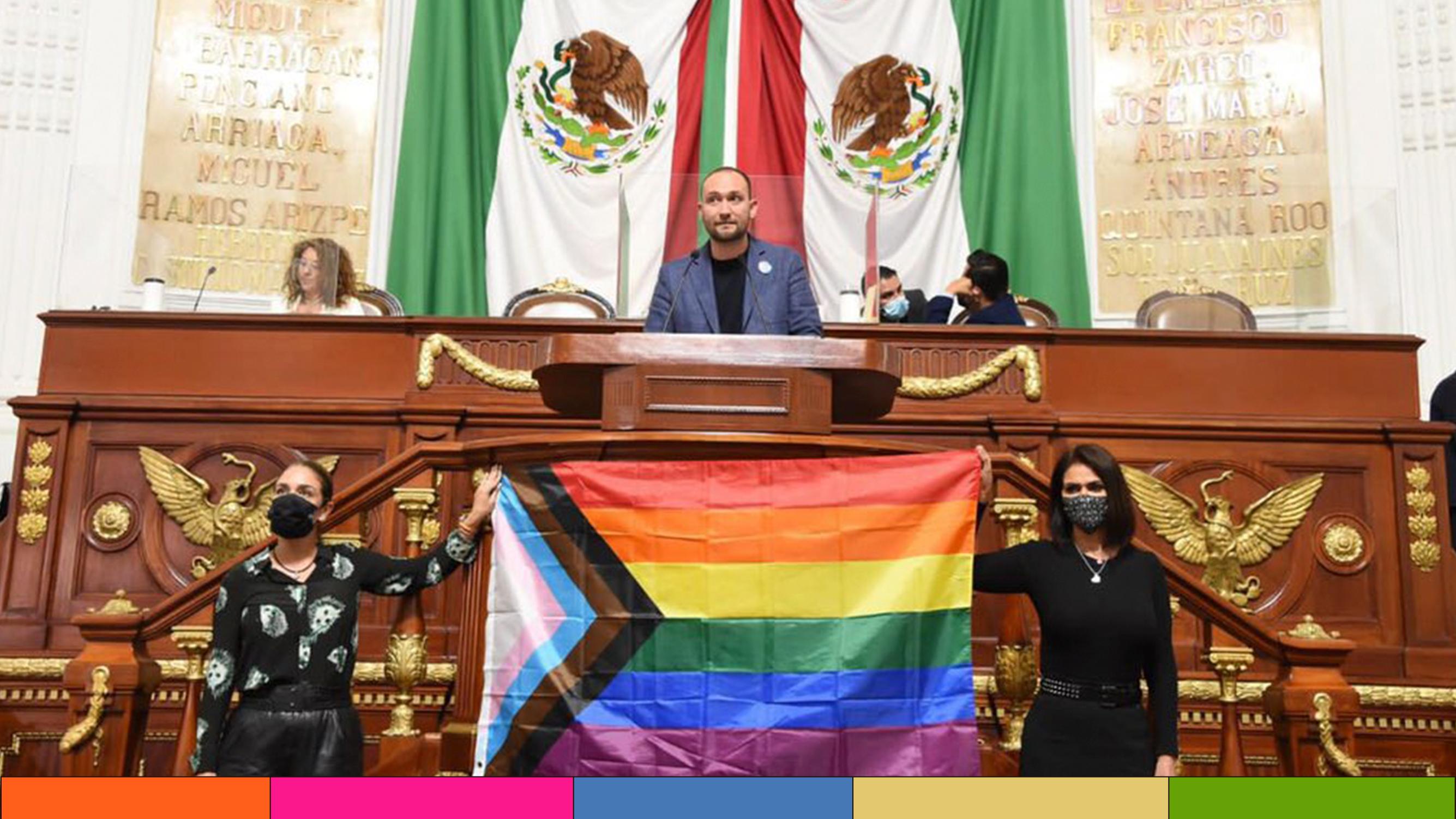 CDMX aprueba la Ley de los Derechos de las personas LGBTTTI+