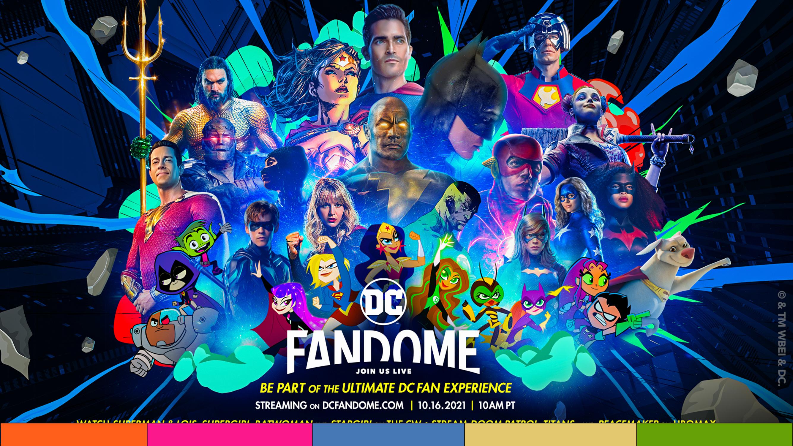 Experiencia DC Fandome regresa en octubre
