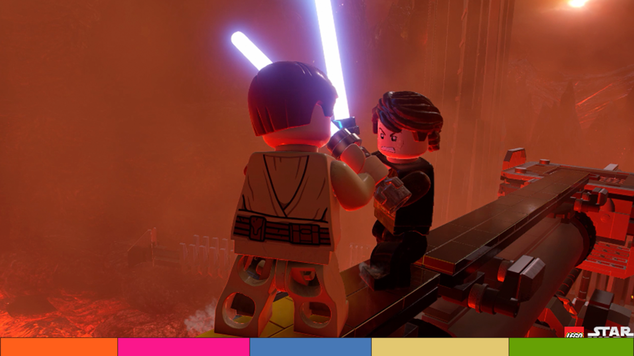 Ya llegó el nuevo tráiler de LEGO Star Wars: The Skywalker Saga