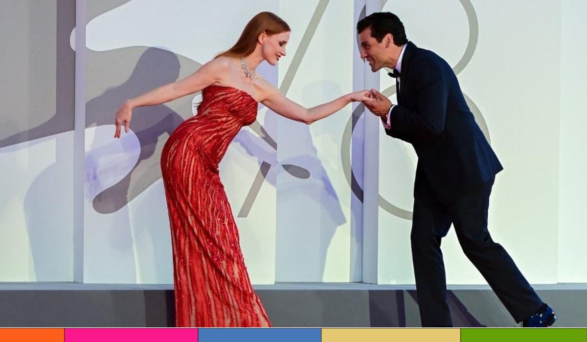 Jessica Chastain y Oscar Isaac llaman la atención por su estrecha relación