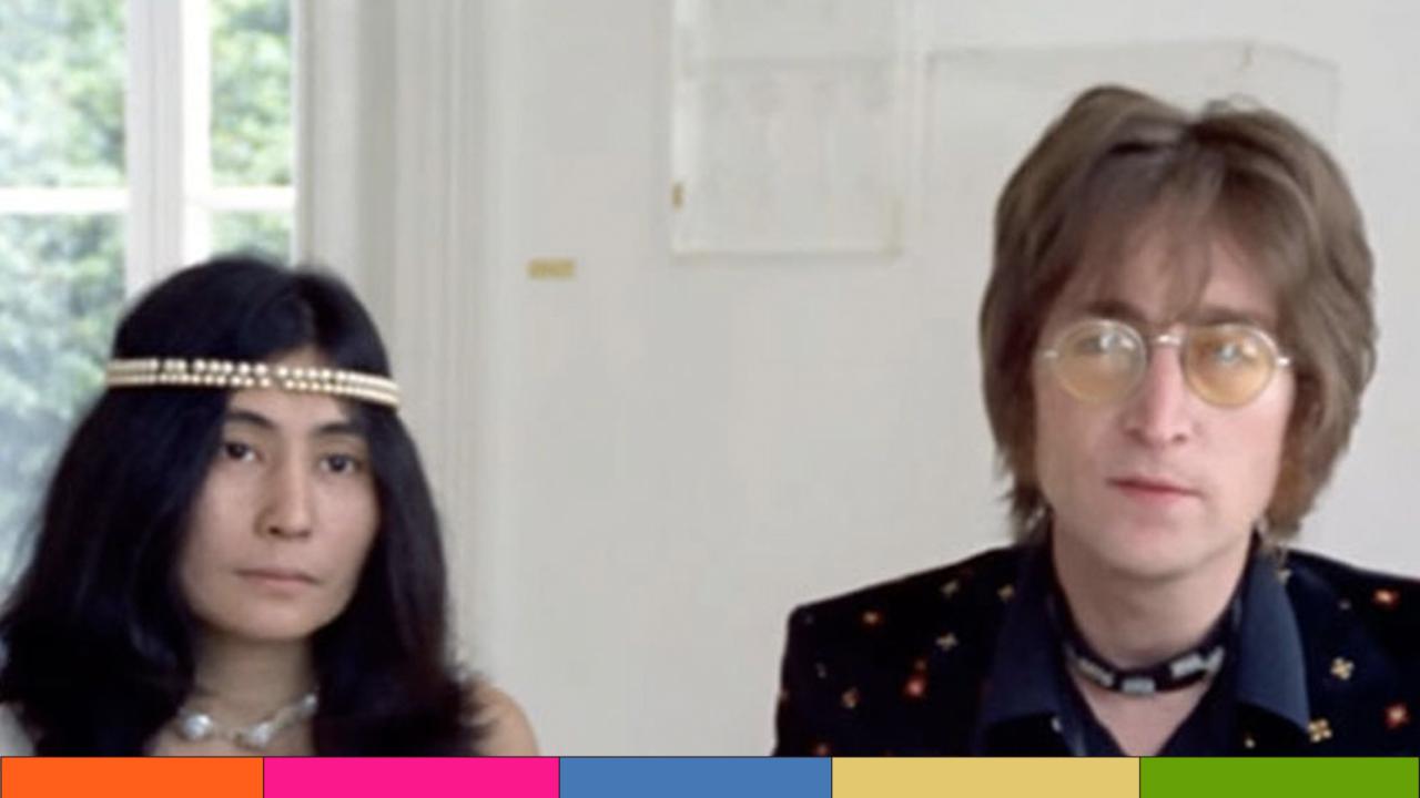 """""""Imagine"""" de John Lennon y Yoko Ono celebra 50 años"""