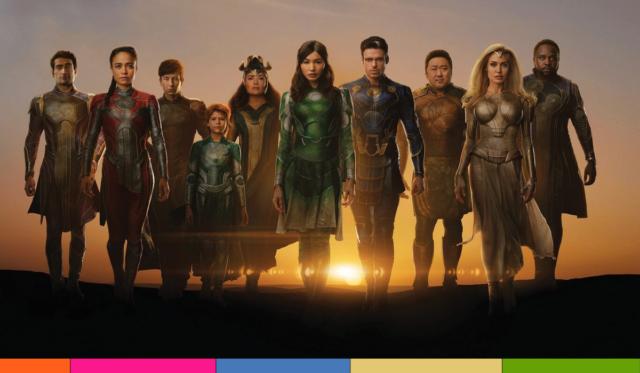 Eternals se presenta como la segunda película más larga de Marvel