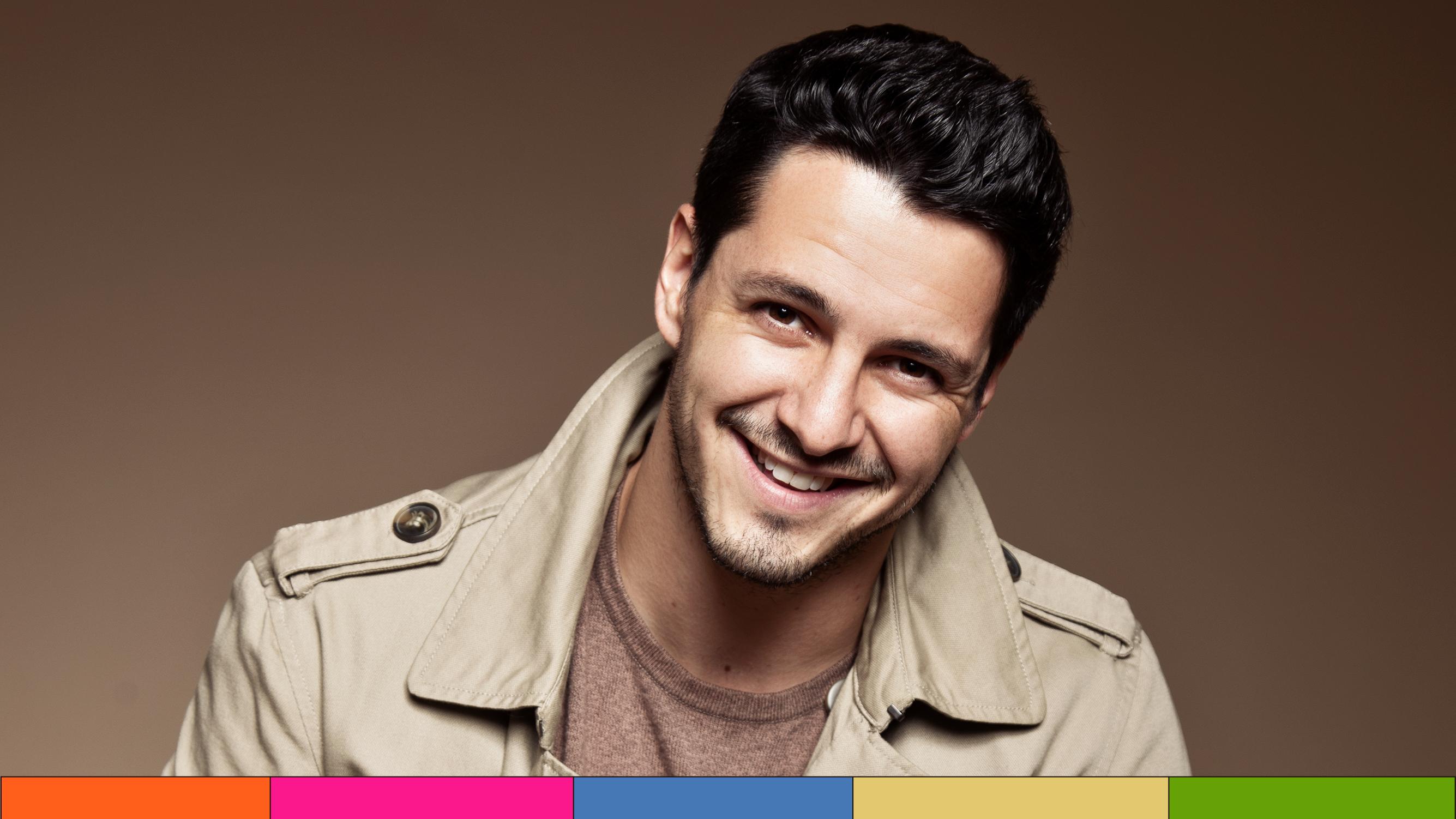 Carlos Gatica cierra el año trabajando y con estrenos en cine y TV