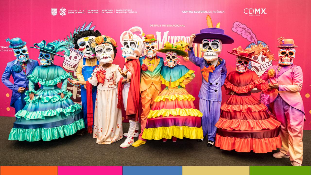 """""""Celebrando la vida"""": anuncian desfile de Día de Muertos en CDMX"""